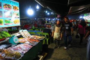 コタキナバル,ナイトマーケット